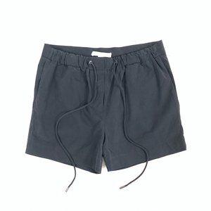 ALEXANDER WANG 100% Silk Drawstring Mini Shorts